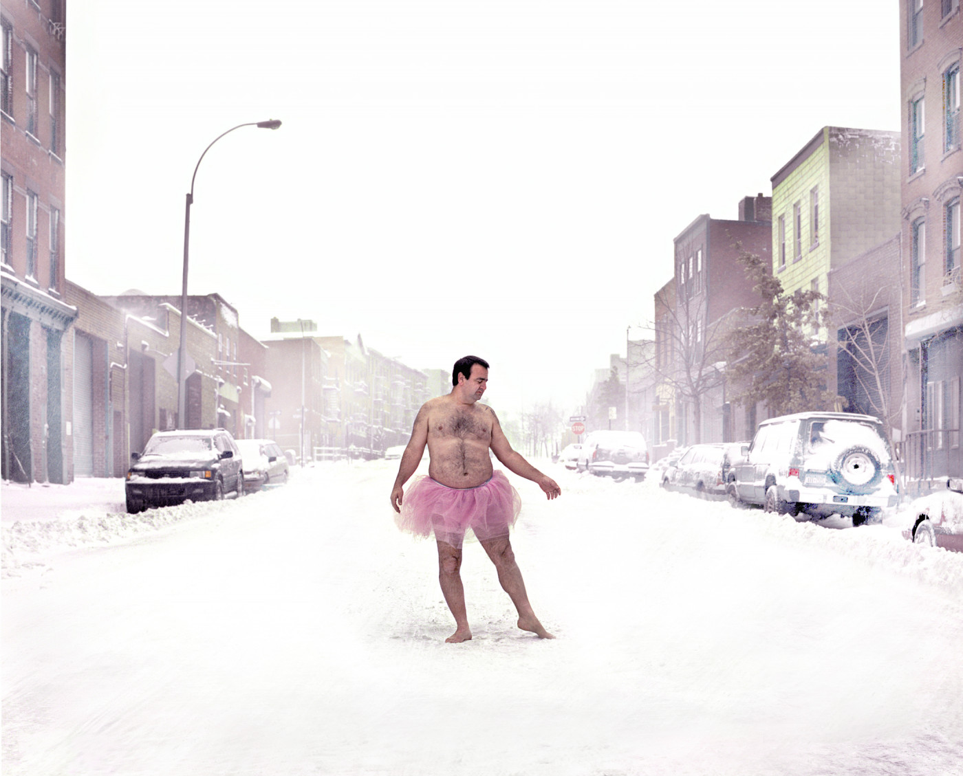 Bob-Carey-Snow-Brooklyn-New-York-2003-c-print