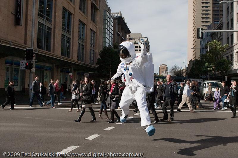 NASA cosmonaut in Sydney