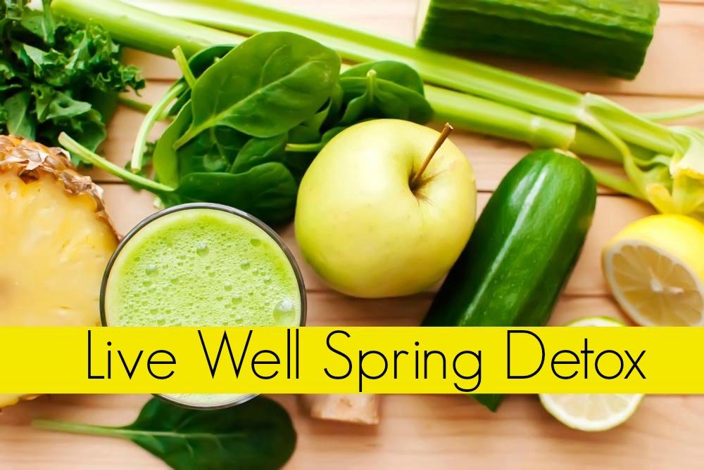 spring detox apple banner