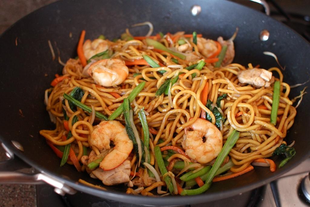 Hokkien Noodles Wok