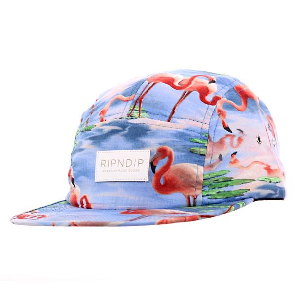 RIPNDIP-Flamingo-5-Panel-Camp-Cap_2