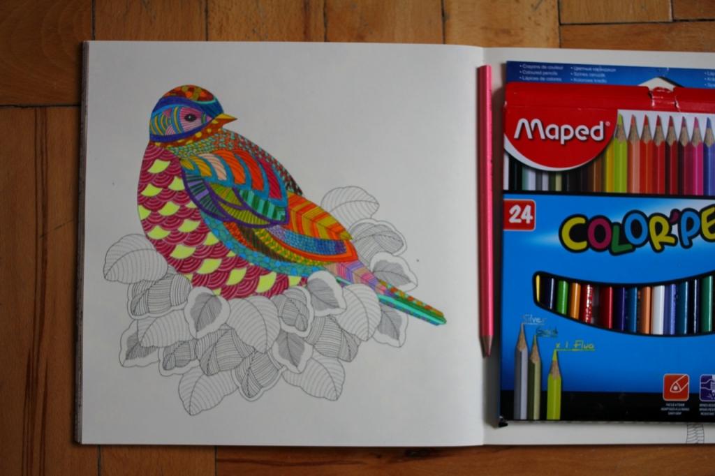carte de colorat pentru adulti
